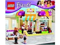 LEGO Friends 41006 Downtown Bakery Set (Used) – Collect Only