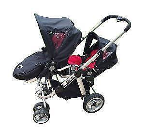 Twin Pushchair Double Pushchairs Strollers Ebay