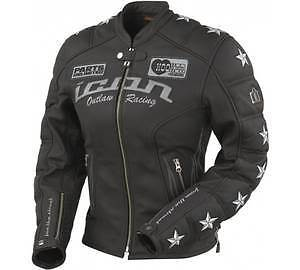 Icon Women's Kitty Jacket & Chaps for Motorcycle