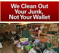 Cheapest junk removal around!