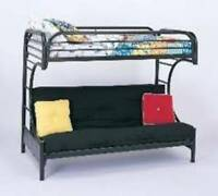 C- SHAPED FUTON BUNKBED SALE @ MATTRESS PLAZA/ FUTON SALE !!