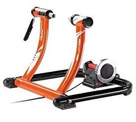 Home cycle trainer Elite SuperCrono Power Mag ElastoGel Trainer