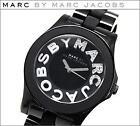 Marc Jacobs Black Ladies Watch