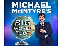 Michael McIntyre 2018 tour