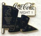 1996 Olympic Pins Coca Cola