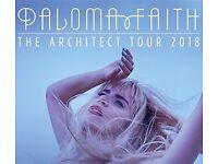 2x Paloma Faith tickets