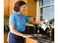 Cleaner job part time, work in Ewell + Epsom + Cheam + Chessington in domestic homes