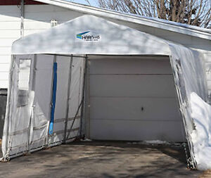 SELLING USED 11' X 16' HARNOIS CAR SHELTERS TARP ONLY