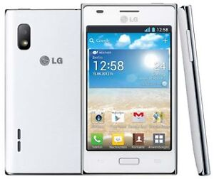 NEW LG Optimus L5 E612 White Unlocked Android v4.0 WiFi 4