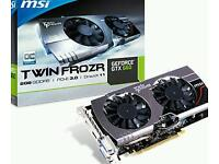MSI GTX 660 Twin Frozr II 2gb