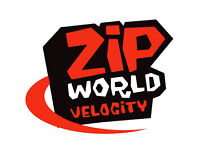 Zip World Velocity Full Experience Vouchers x 2 Valid until December 2016