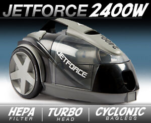 2400W Jetforce Turbo Cyclonic HEPA Bagless Vacuum Cleaner Caulfield Glen Eira Area Preview