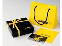 £550 selfridges gift card