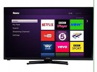 40 inch Full HD Freeview Slim LED Smart TV
