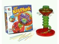 Original ker-plunk game for all ages.
