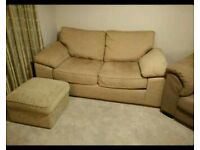 Sofa bed and foot stall, well built and in great condition.
