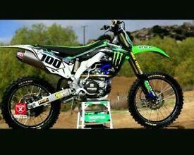 We will buy your damaged non runners kxf crf bike ktm ninja rmz kx yz yzf raptor
