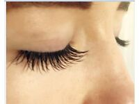 Full set of semi-permanent Individual Eyelash extensions only£25 Bristol Full, thick natural or glam