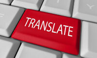 Translation Services (French <-> English)