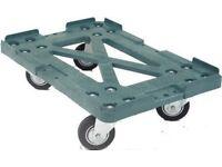 A Heavy Duty 4 Wheeled PLASGAD Trolley Dolly - New - Collect Brixham, Devon, TQ5