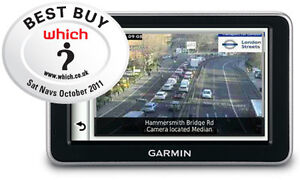Garmin NuLink 2390 LIVE GPS Speed Camera Alert System + FREE 1 Year Subscription