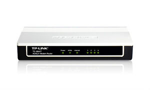 ADSL2+ Ethernet USB Wired Modem Router