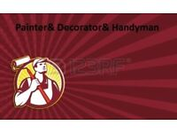 Painter and decorator & plumber& Handyman service