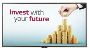 "LG 49SM5B-B _506 49"" Digital signage webOS 1080p 450 cd/m² HDMI/DP ***READ***"