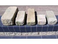 FREE 10 Cotswold Bekstone buff black bricks