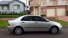 2006 Toyota Corolla Narwee Canterbury Area Preview