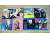 """23 x billy idol vinyl collection LP's / 12 / 7"""" / picture disc"""