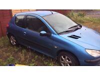 Spare or repair Peugeot 206