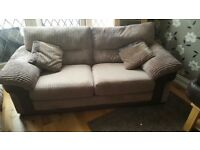 Dfs extra large 2 seater sofa (easily seats 3 people)