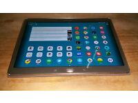 "Samsung Galaxy Tab S 10.5"" Tablet Bronze/Titanium good condition"