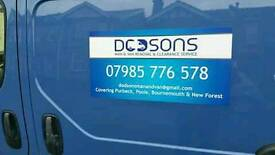 Dodsons man & van removals and clearence. best rates