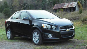 2012 Chevrolet Sonic 2LT Sedan- 25KM- like new- no accidents