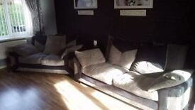 3 and 2 sofas good condition