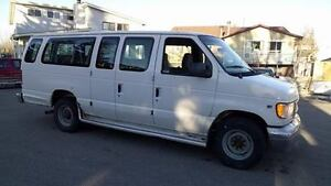 2000 FORD E-350,130 KM,12 SEATS PERFECT FAMILY AB ACTIVE VAN !!!