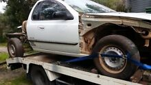 1999 AU Falcon Trayback Ute wreck Ashby Wanneroo Area Preview