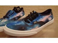 Brand New Galaxy Vans Size 6
