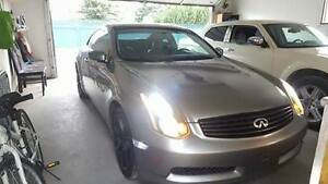 2004 Infiniti G35 Coupe (2 door) with brand new clutch