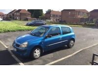1.2 ltr Renault Clio perfect condition.