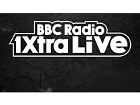 x2 BBC 1XTRA TICKETS FOR SALE (08/10/16) - Liverpool