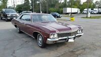70 Chev Impala in very good condition - 2 owners - Price reduced