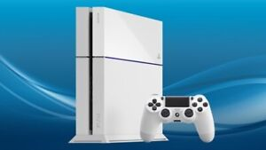 Playstation 4 PS4 Glacier White Adult Owned REDUCED