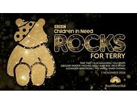 Children in Need Rocks for Terry Wogan tickets - November 1st 2016 at the Royal Albert Hall
