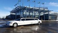 Limo service for up to 8 from Fort saskatchewan and area