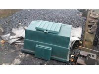 OUTDOOR COAL BUNKER 1/2 TON 500KG £65 OUTDOOR STORAGE