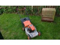Flymo Petrol Lawn Mower (Briggs And Stratton Engine)