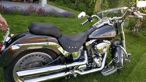 2007 Harley Davidson Fat Boy, Mint condition, VERY low kms